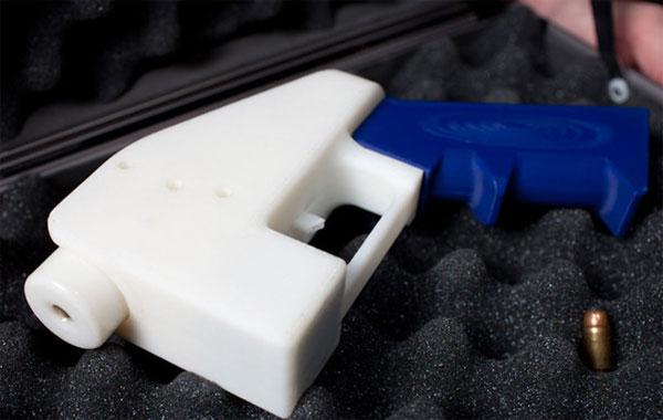 На 3д принтере напечатали огнестрельное оружие