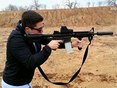 На 3д принтере напечатали полуавтоматическую винтовку
