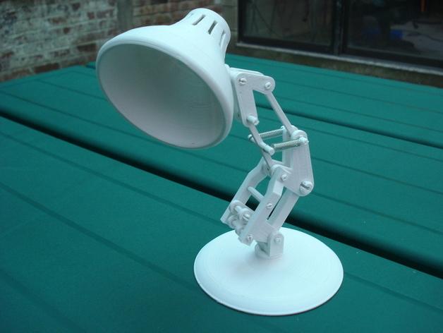 Модель мини лампы