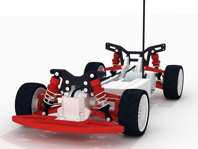 Модель машины OpenRC 1:10 4WD