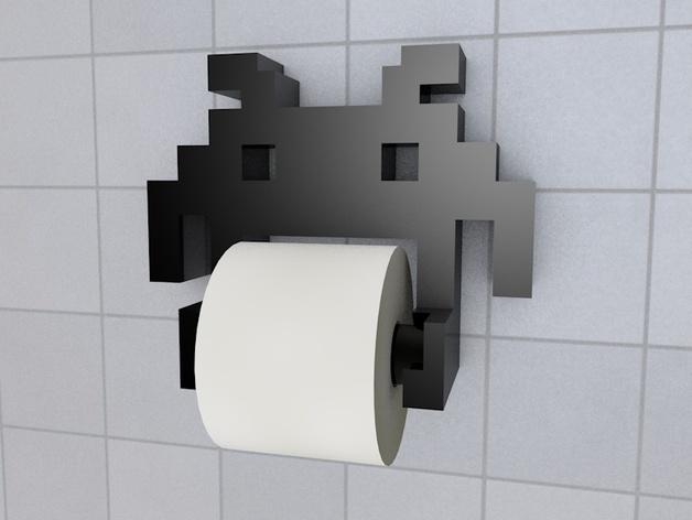 Держатель туалетной бумаги minecraft