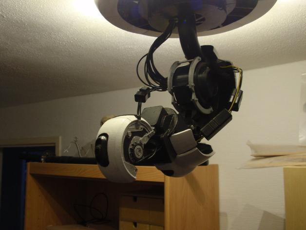 Модель лампы GladOS