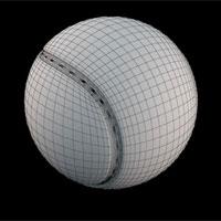 Модель теннисного мяча