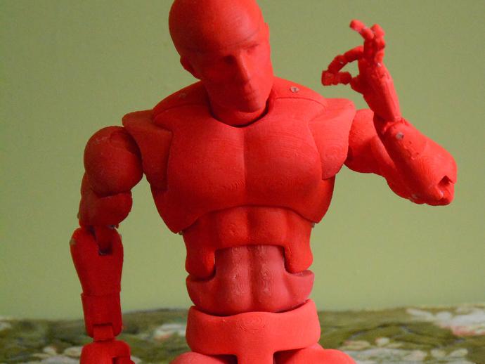 Модель подвижной человеческой фигуры