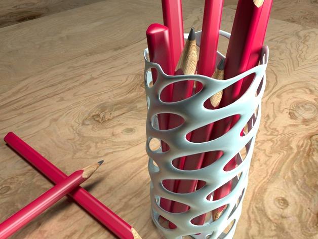 Модель вазы для карандашей