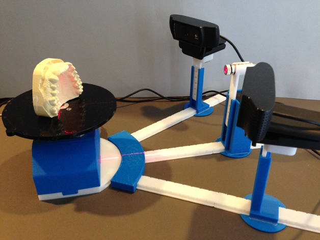Набор для создания домашнего 3D сканнера