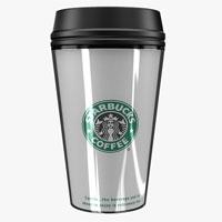 Модель чашки Starbucks