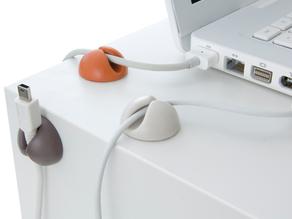 Модель крепежа для кабеля