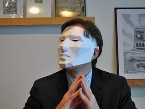 Малополигональная маска