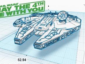Модель космического корабля Тысячелетний сокол V1.1