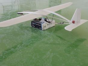 Модель самолета беспилотника