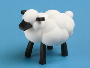 Модель овцы Карла и Лео