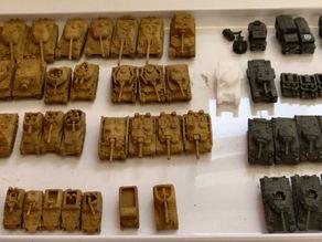 Модели танков 1:200 1944-45
