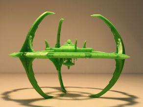 Модель межзвездного корабля