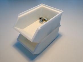 Модель удобных совместимых ящичков для хранения