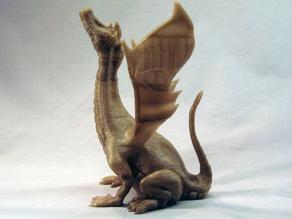 Модель поющего дракона
