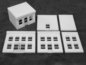 Модель складного дома