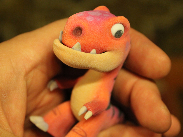 Модель маленького динозавра