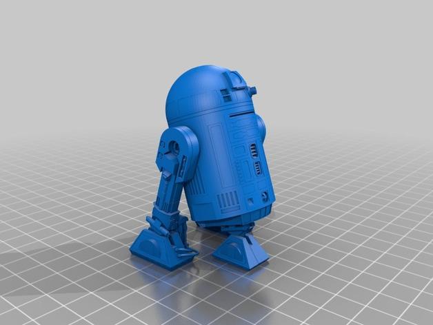 Робот R2-D2 с высокой детализацией