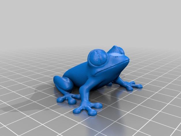 Модель лягушки