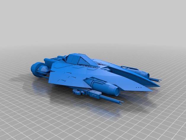 Истрибитель L-SR из звездных войн