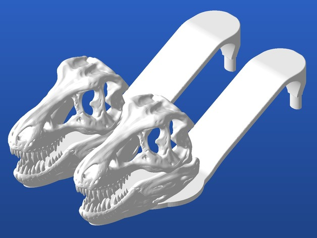 Сандали с головой тиранозавра