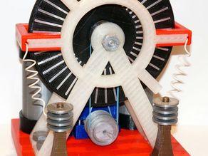 Электростатическая машина WH16