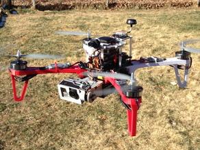 Летающий квадрокоптер