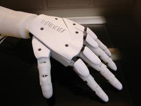 Модель левой руки робота
