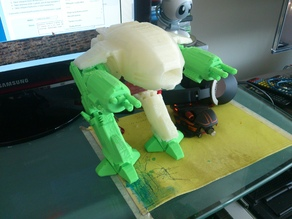 Робот из фильма Робокоп ED 209