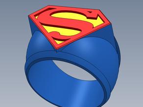Кольцо супермена