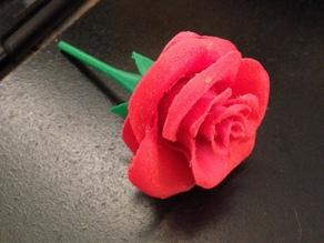 Модель цветка - роза