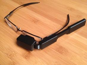 Видео насадка на очки Raspberry Pi