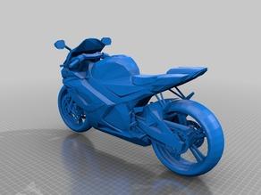 Модель мотоцикла Suzuki GSX-R 750