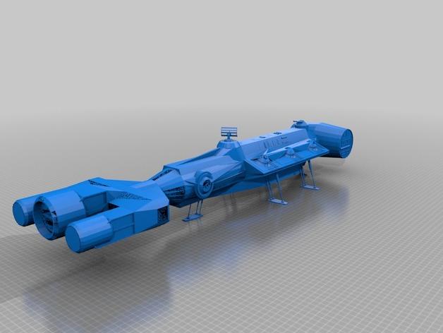 Корабль из звездных войн Blokada Runner Tantive 3.5