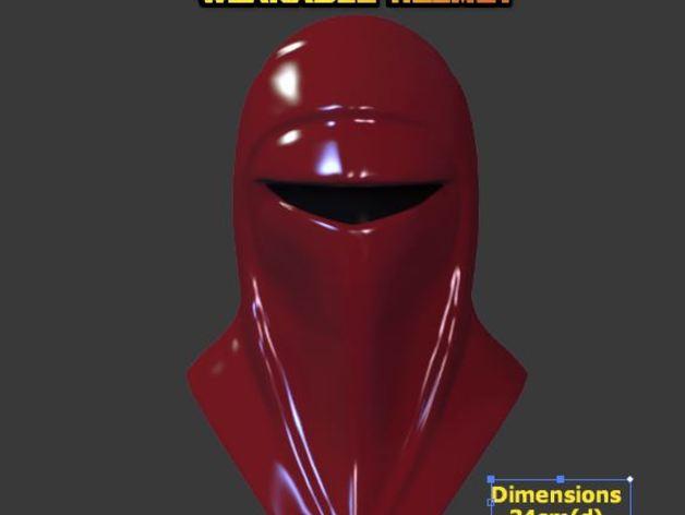 Маска из костюма имперской охраны
