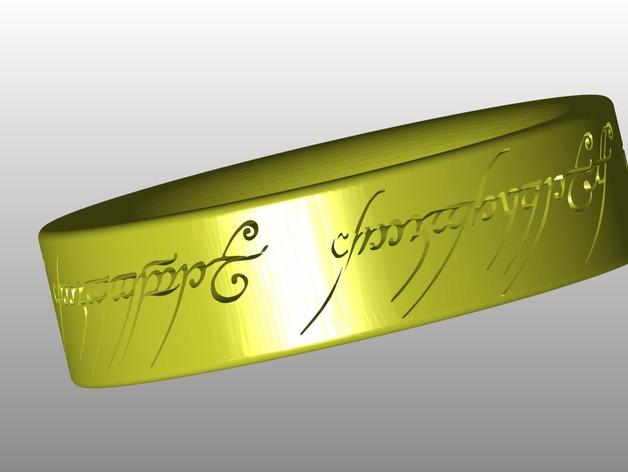 Кольцо саурона из Властелина колец