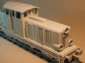 Модель локомотива Diesel 01