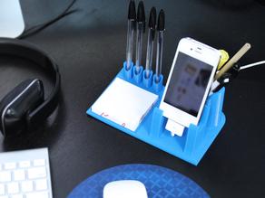Органайзер / Подставка для смартфона и ручек
