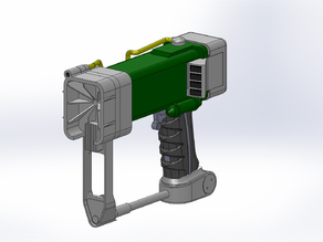 Лазерный пистолет из фаллаута