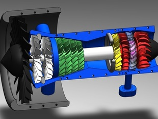 Двигатель для самолета
