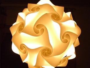 Пилообразная насадка для лампы