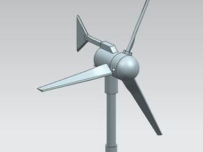 Маленькая ветряная турбина