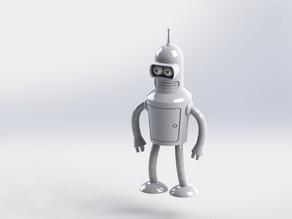 Модель робота бендера