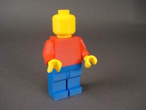 Модель человечка из лего