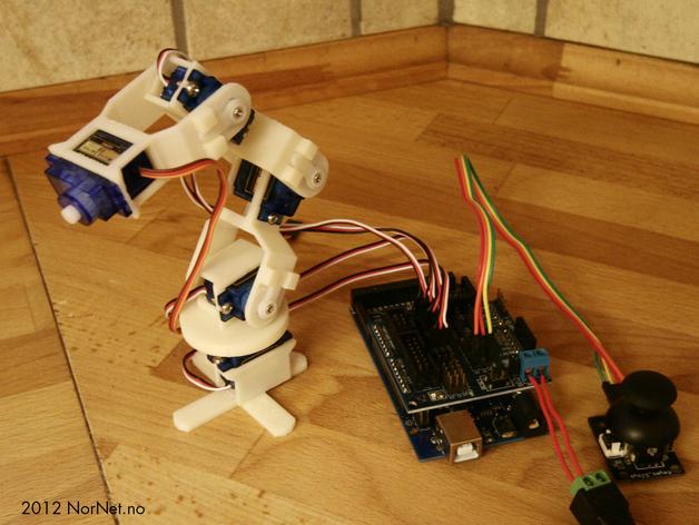 Робот рука на ардуино своими руками для начинающих