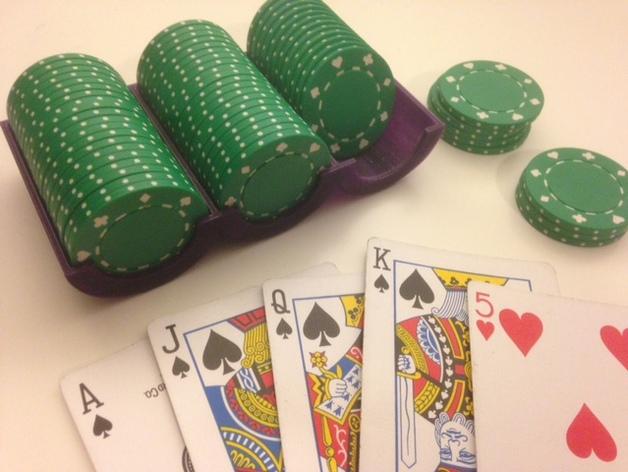 Подставка для покерных фишек