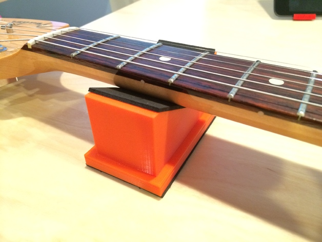 Подставка для грифа гитары