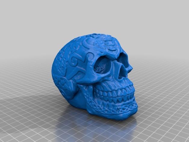 Кельтский череп