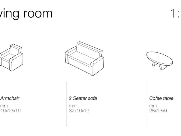 Модели мебели для гостинной